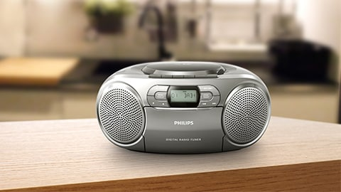 Philips CD-Player, Ghettoblaster