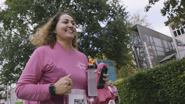 Philips am Pink Ribbon Charity Walk 2018
