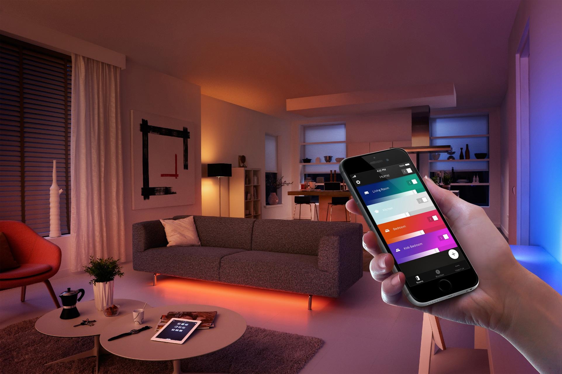 Neue Philips Hue App Macht Beleuchtung Intelligenter